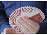 Magic Lessons London. Magic Tricks Lessons. Close-Up Magic London Magician. Lessons Gift Idea.