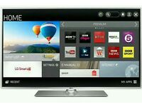"LG 50"" LED smart wi-fi built HD freeview full HD 1080p"