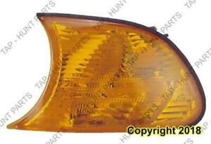 Side Marker Lamp Driver Side Coupe/Convertible Amber BMW 3-Series (E46) 1999-2005