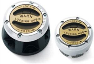 Nissan Pathfinder 4x4 5 speed warn locking hubs