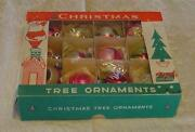 Vintage Indent Christmas Ornaments