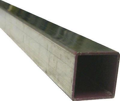 """Three Aluminum Square Tubing in 6063-T5 1//2/"""" x 1//2/"""" .062 x length 28/"""""""