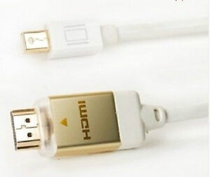 10 ft. Mini Display Port M/M to HDMI  Cable - Excellent for Appl