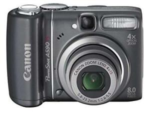 Canon A590 IS Digital Camera