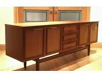 Mid-century Retro Vintage Teak Sideboard Cabinet