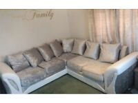 comfy New Scs Sofa with FREE FOOTSTOOL