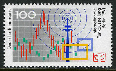 Germany 1680, MNH. Intl. Radio Exhibition, 1991