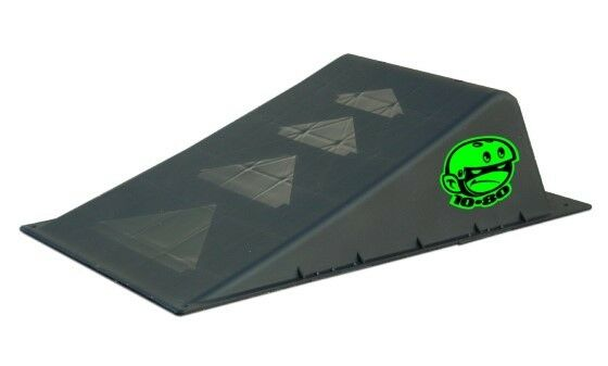 Ten-Eighty Mini Launch Ramp - Durable Textured Slip-resistant Finish Safety, Fun
