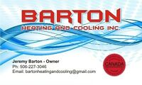 Barton Heating and Cooling Inc,