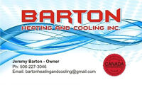 Barton Heating and Cooling Inc.