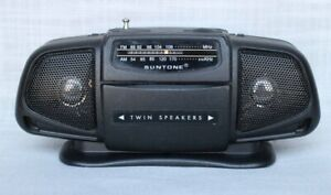 Portable Suntone RR2500 boom box radio