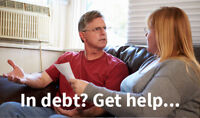 In Debt? We can help.
