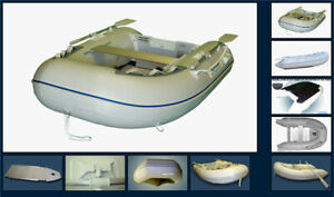 Aquamarine 7.5' inflatable boat with aluminum floor