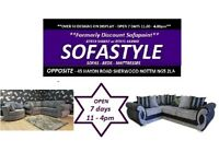 **SOFAS** AT SOFASTYLE **** WE DO NOT SELL PICTURES **** OVER 50 STYLES ON DISPLAY - FROM £299
