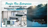 We will pay CASH for your good quality Restaurant Equipment