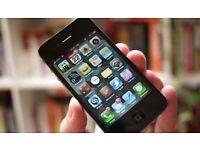 Apple Iphone 4 16GB, Sim Free; Unlocked
