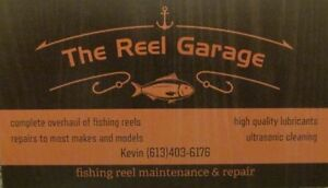 reels cleaned or repaired