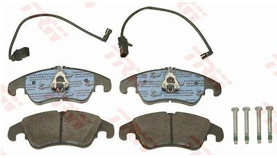 FOR AUDI Q5 ALL MODELS 2008  FRONT ORIGINAL BRAKE DISC PADS SET  PAD SENSORS