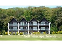 Clowance Estate self catering golf view apartment St Ives Cornwall 6 People 3 September weekr