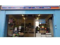 Well established computer shop lease for sale