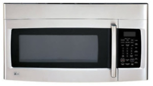 Used LG Over the Range Stainless Steel Microwave Oven