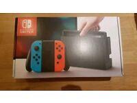 Nintendo Switch Neon Blue & Red 32GB