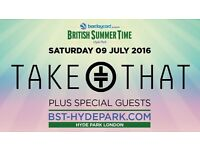 *Reduced* 2 X Take That Tickets Hyde Park 9th July