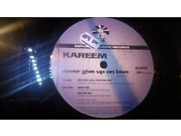 "Kareem - Never Give Up On Love - Exploding Plastic 12"" - Ultra Rare"