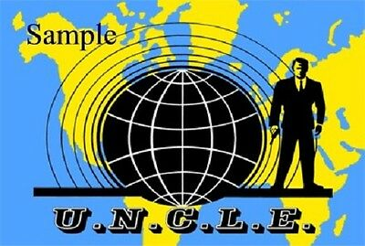 1960S Man From Uncle Tv Show Logo Magnet   New