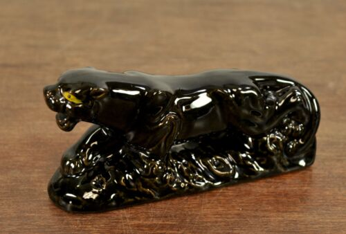 """VTG 1960s MID Century Modern MCM - Prowling Panther Cat 6"""" Japan"""
