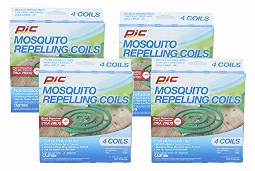 Pic C-8-24 Mosquito Repellent Coils, 4 packs of 4 (16 Coils))