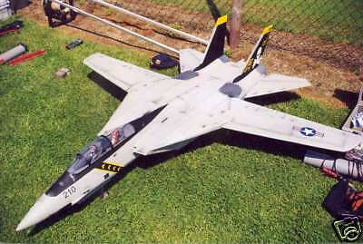 Twin Edf Scale Grumman F 14 Tomcat  Plans  Templates And Instructions 57Ws
