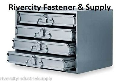 New Metal 16 Hole Storage Tray Cabinet And Slide Rack 303-95 Four 113-95
