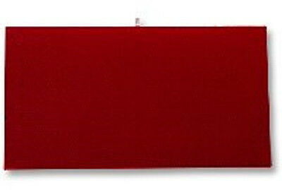 Jewelry Presentation Display Pad Insert Red Velvet Fits Standard Trays Case