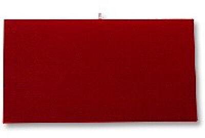 Jewelry Presentation Display Pad Insert  Red Velvet  Fits Standard Trays & Case