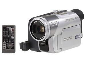 Panasonic 3CCD PV-GS120 Stereo Camcorder