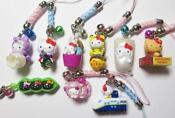 Hello Kitty Cell Phone Charm Lot