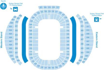 NRL Grand Final Tickets - Platinum x 3 HALFWAY LINE- Bay 606 Parramatta Parramatta Area Preview