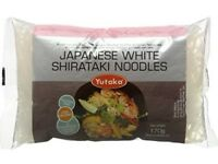 Yutaka White Gluten Free Shirataki Konjac Noodles (pack of 10) Expiry date April 2018 (Ealing)