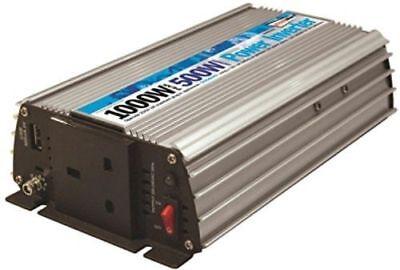 Car 12v Inverter 500w 12v to mains 240v plug socket DC AC travel power USB T5 T6
