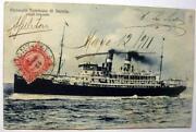 Ocean Liner Postcard