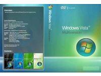 Windows Vista - 32bit & 64bit Operating System Recovery Repair Restore Boot Disc