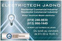 Master electrician certified (bilingual)