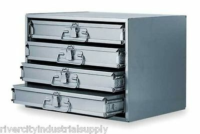 Metal 24 Hole Storage Tray Cabinet And Slide Rack