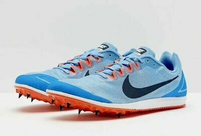new concept a24b0 e3bbe Men s Nike Zoom Rival D 10 Unisex Spikes Distance Sz 12 Grey Blue 907566 446