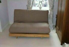 FUTON COMPANY Orlando Sofa bed With Cover. COST £668.00 + I can Deliver Sofa Bed