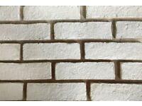Handmade Clay White Brick Slips/ Slip Bricks / Brick Cladding