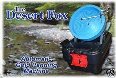 >Desert Fox Best Portable Gold Panning Machine! 2-Speed Model. Buy the best!