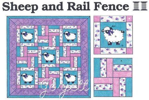 Rail Fence Quilt Pattern Ebay