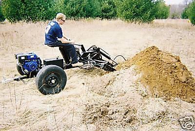 Towable Backhoe Plans, Backhoe Plans, Excavator plans, Tractor, Welding plans